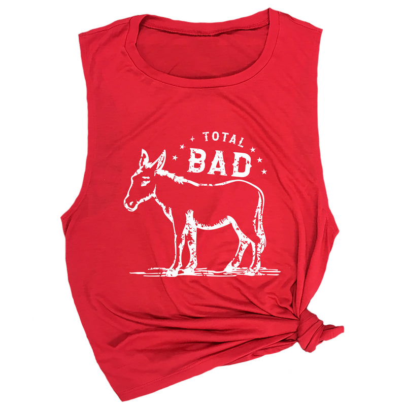 Total Bad (Donkey) Muscle Tee