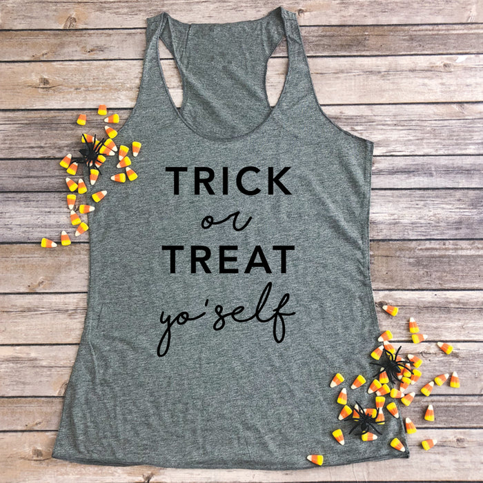 Trick or Treat Yo'self Tank Top