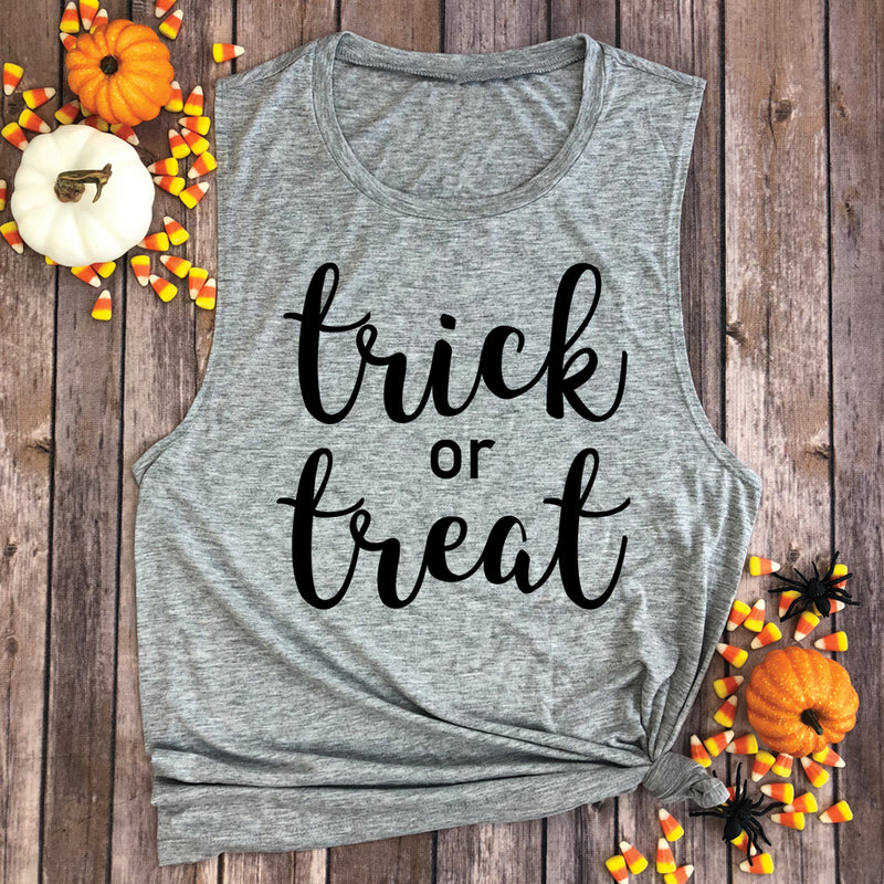 Trick or Treat Muscle Tee