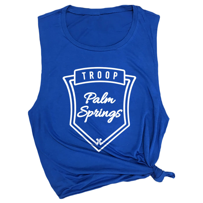 Troop Palm Springs Muscle Tee