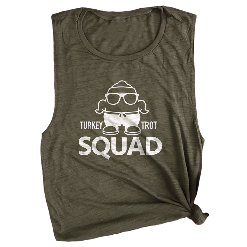 Turkey Trot Squad Muscle Tee