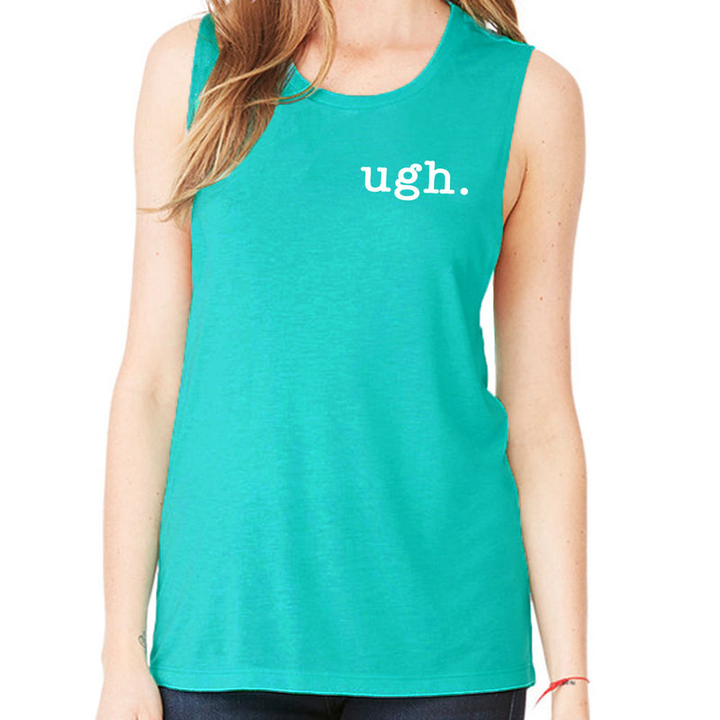 Ugh Gym Workout Fitness Muscle T-Shirt