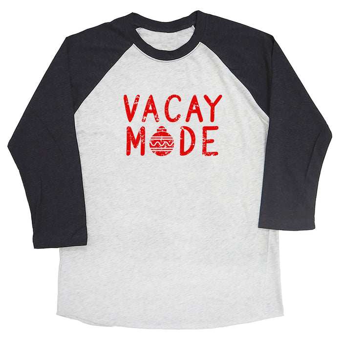 Vacay Mode (Christmas Ornament) Raglan Tee
