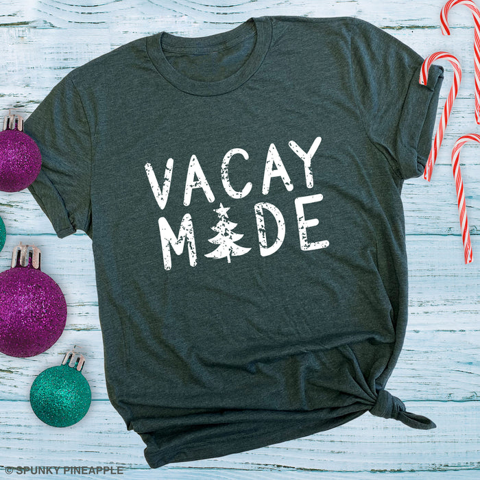 Vacay Mode (Christmas Tree) Group Christmas Vacation Shirts