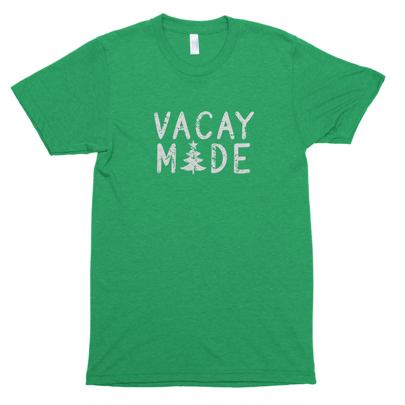 Vacay Mode (Christmas Tree) Premium Unisex T-Shirt