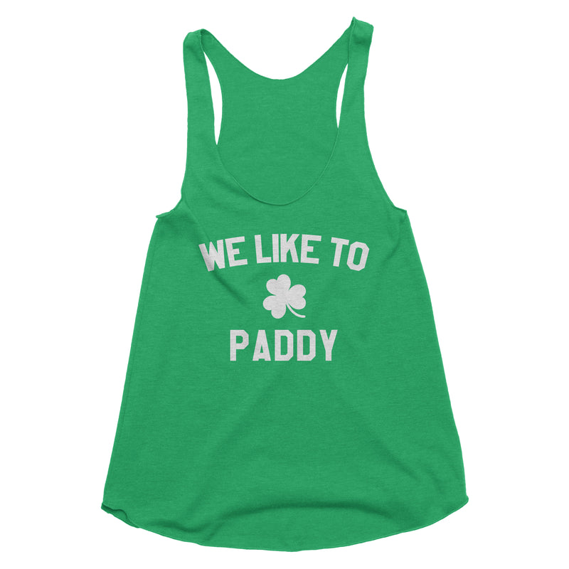 We Like to Paddy Tank Top