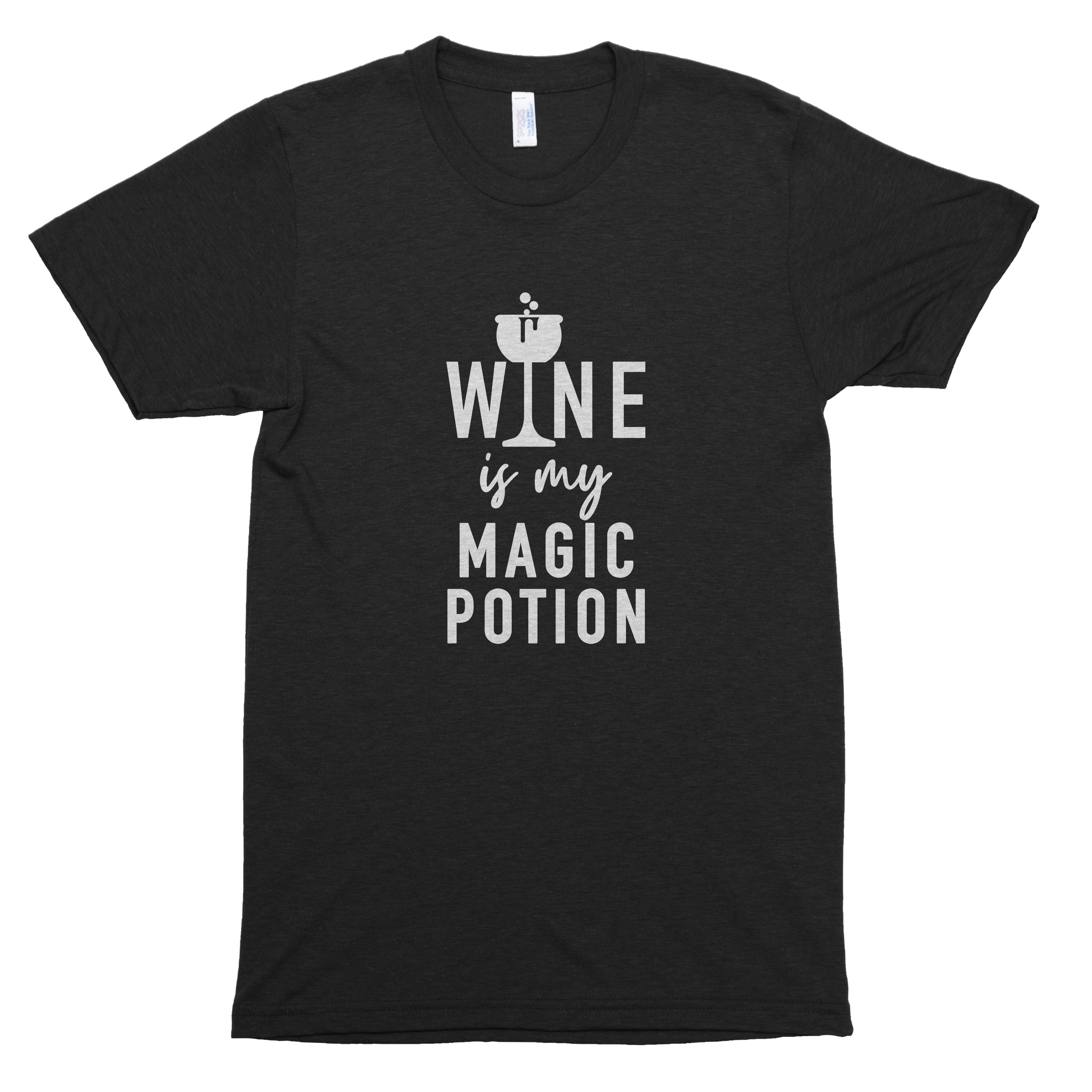 Wine is My Magic Potion Premium Unisex T-Shirt