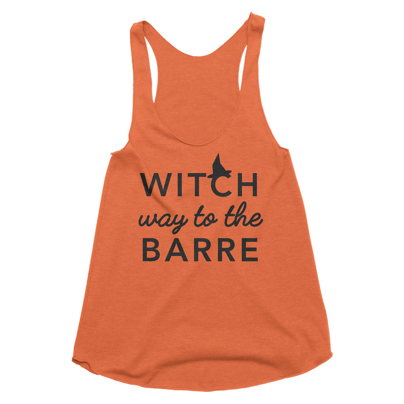Witch Way To The Barre Tank Top