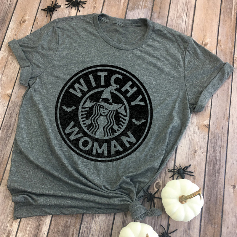 Witchy Woman Premium Unisex T-Shirt