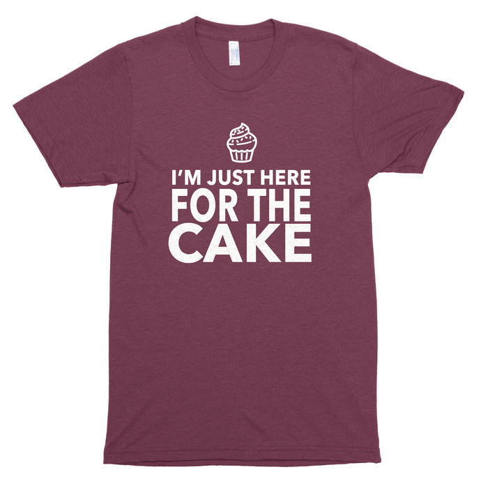 I'm Just Here for the Cake Premium Unisex T-Shirt