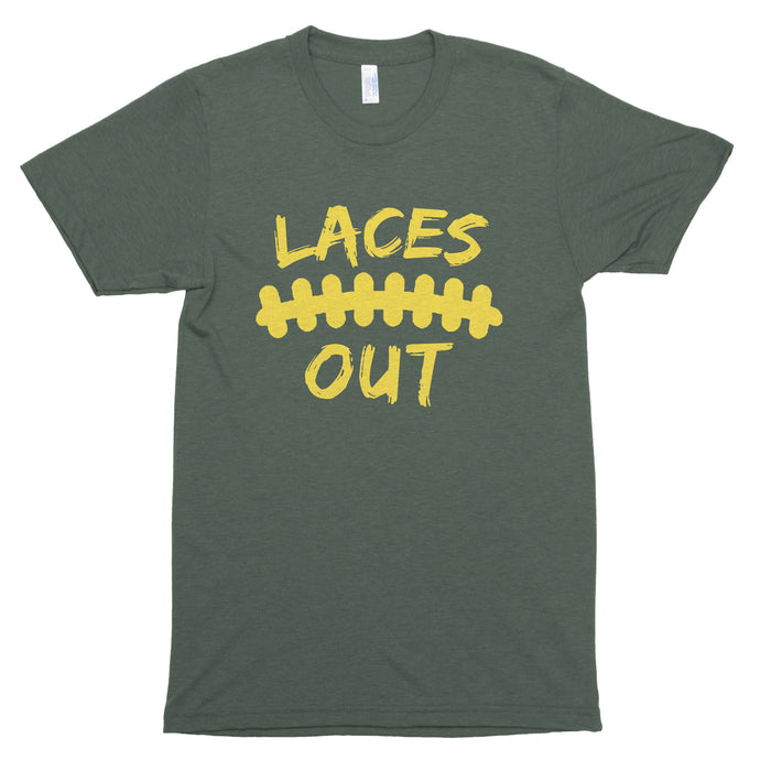 Laces Out Premium Unisex T-Shirt
