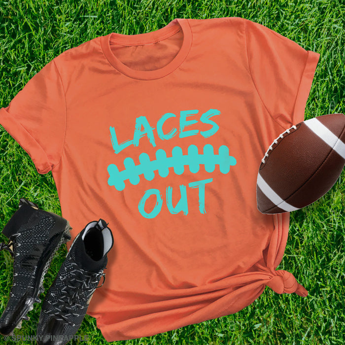 Laces Out Football Shirts for Women