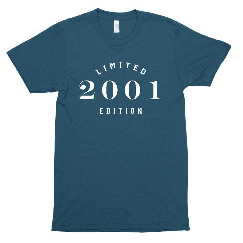 Limited Edition 2001 Premium Unisex T-Shirt