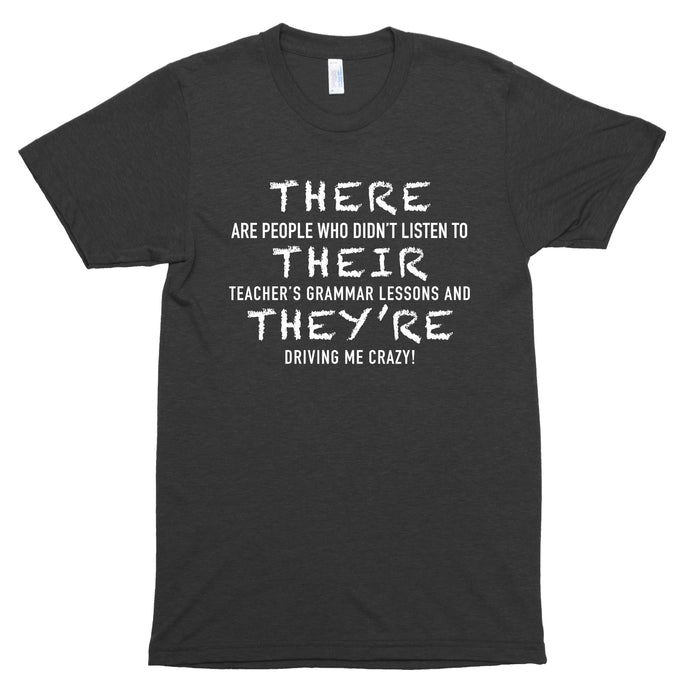 There, Their, They're Premium Unisex T-Shirt