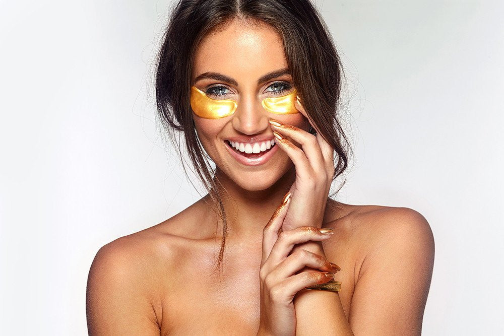 24k Gold Collagen Eye Mask - 10 Treatments