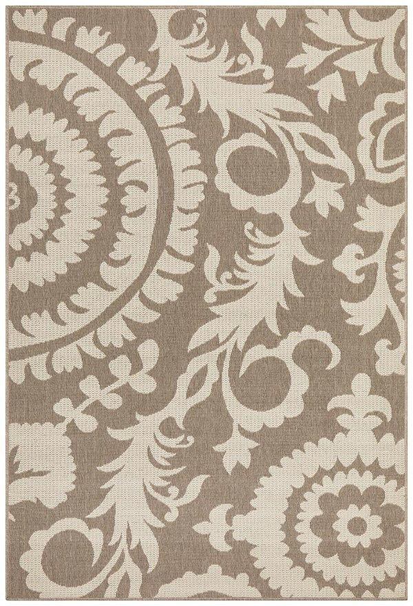 Alfresco Indoor Outdoor Collection 6509 Natural Rug