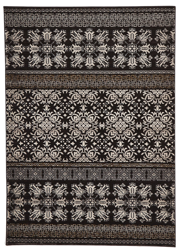 Heirloom Urban Tribe Designer Brown Rug