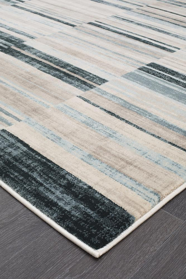 Heirloom Steps Traditional Blue Rug