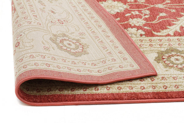 Jewel Chobi Design 800 Red Bone Runner Rug