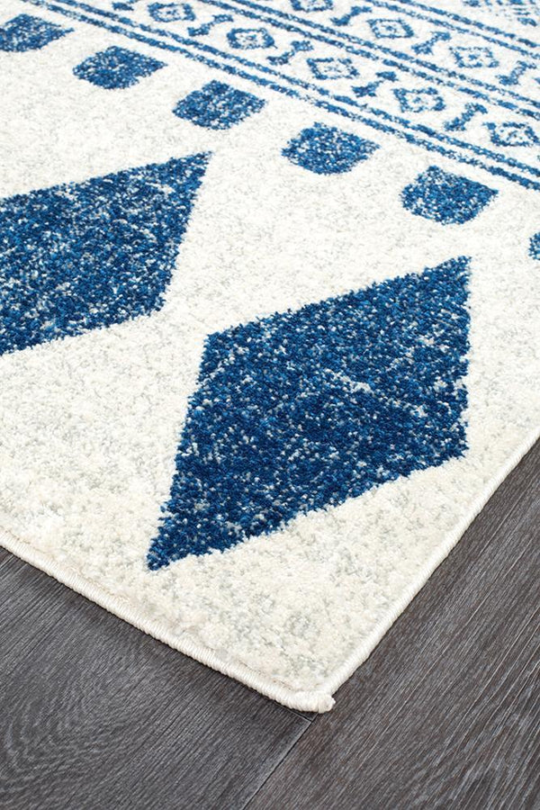 Mirage Adani Modern Tribal Design Navy Rug