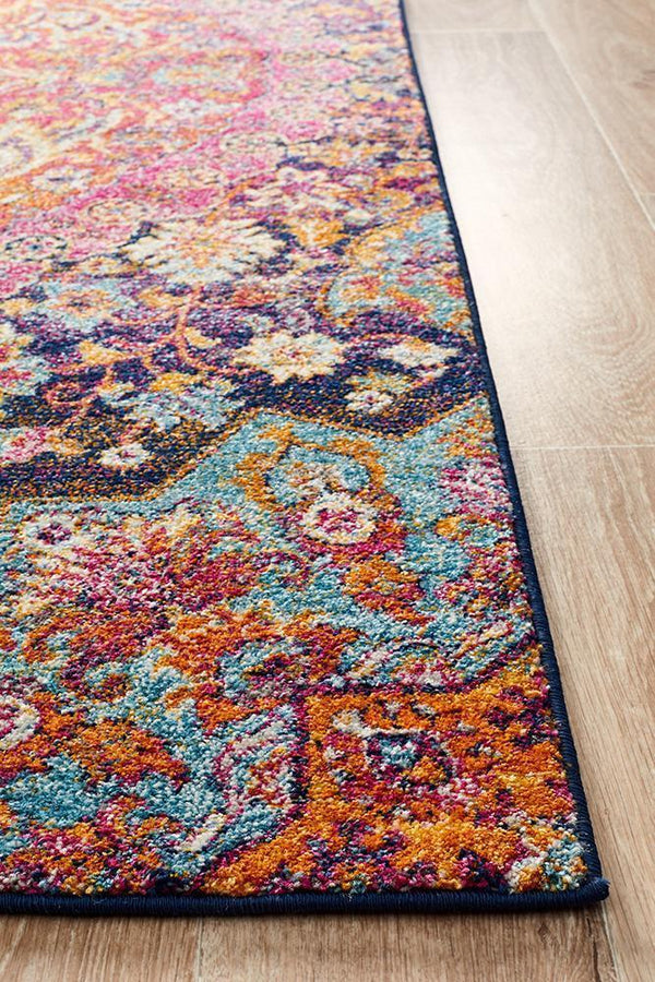Museum Preston Multi Coloured Rug