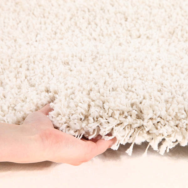 Pandora Collection Thick Soft Polar Cream Shag Rug