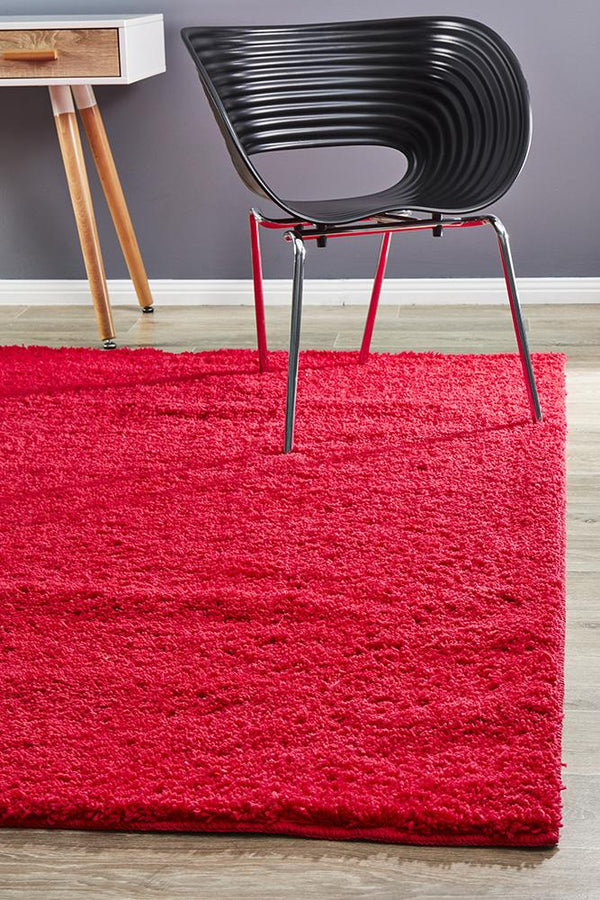 Soho Awesome Shag Rug Pink