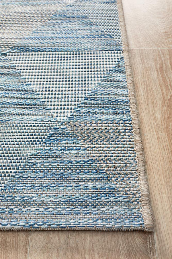 Rug Culture Terrace 5503 Blue Runner Rug