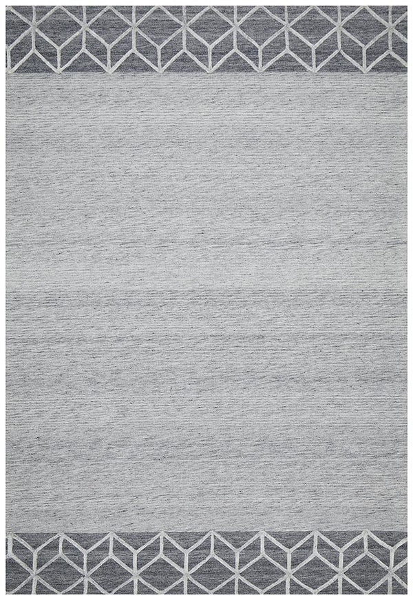Visions Winter Grey Pulse Modern Rug