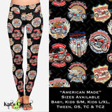 American Made Leggings OS Leggings