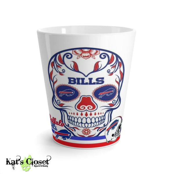 Bills Sugar Skull Latte Mug