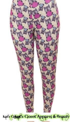 Cp Designs Playful Kitties Leggings