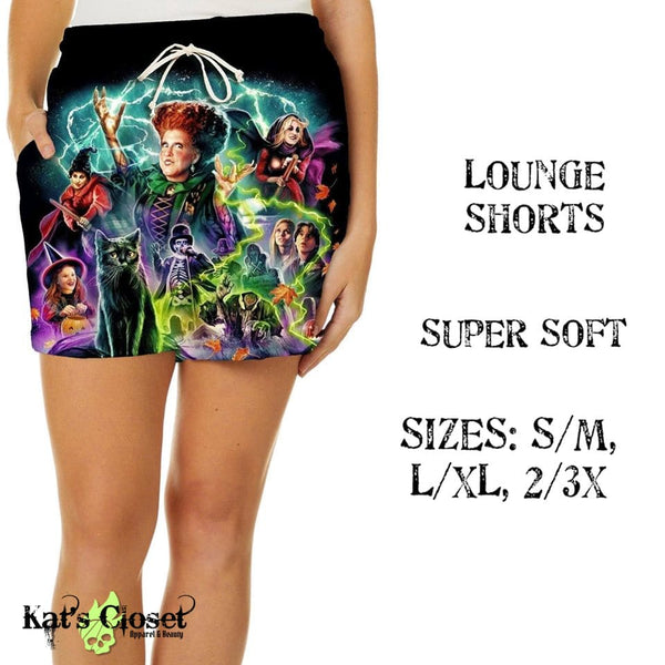 Custom Awesome Witch Sisters Lounge Shorts - ETA Mid August