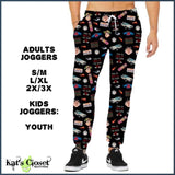 Custom Back to the 80s Leggings Capris & Joggers
