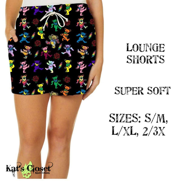 Custom Dancing Bears Lounge Shorts