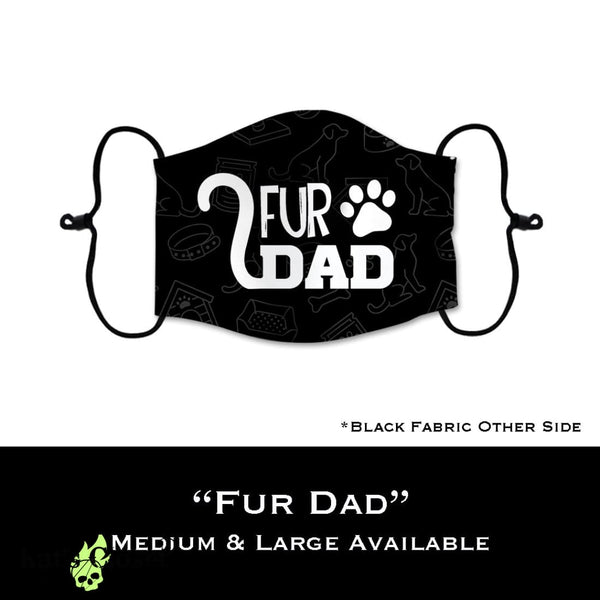 Custom Face Cover - Fur Dad