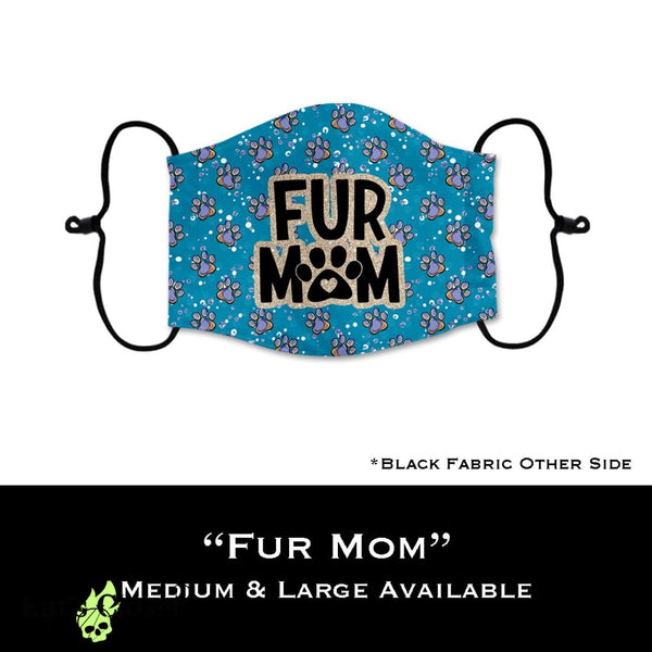 Custom Face Cover - Fur Mom