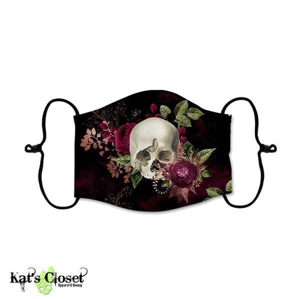 [PRE-ORDER] Custom Face Covers - Skulls Horror Goth Metal - ETA Middle to End May Accessories