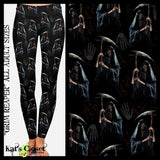Custom Grim Reaper Leggings & Joggers - ETA Mid Sept