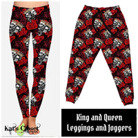 Custom King and Queen Leggings & Joggers
