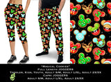 Custom Magical Cookies Leggings Capri Joggers & - 1 S/M Jogger In hand