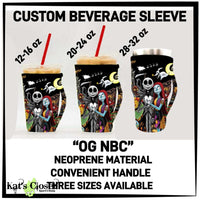 Custom OG The Crew Drink Sleeves W/Handles - 3 Sizes