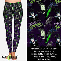 Custom Perfectly Wicked Leggings - 1 OS IN STOCK