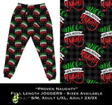 Custom Proven Naughty Leggings OR Joggers