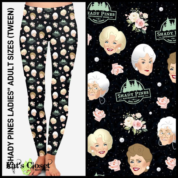 [PRE-ORDER]Custom Shady Pines Ladies Leggings & Joggers - Pre Orders Close 10/25