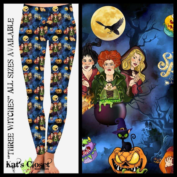 Custom Three Witches Leggings