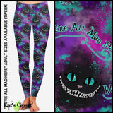 [PRE-ORDER]Custom We're All Mad Leggings & Joggers - Pre Order Closes 1/8