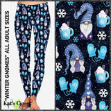 [PRE-ORDER]Custom Winter Gnomes Leggings & Joggers - Pre Orders Close 10/11