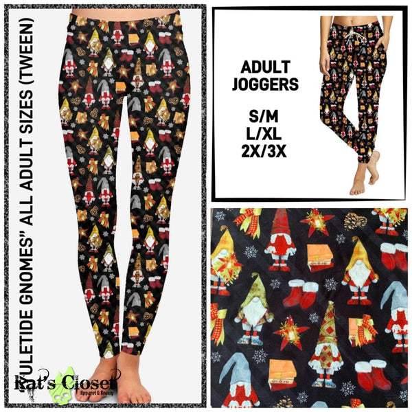 Custom Yuletide Gnomes Leggings & Joggers - ETA Mid Nov