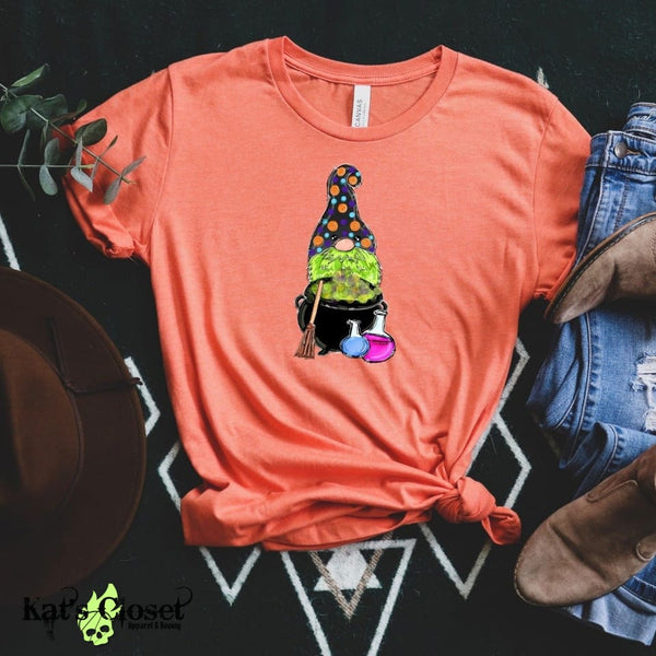 Halloween Gnome Tee - Kat's Closet Apparel